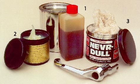 Kunstlederkleber & Pflegemittel