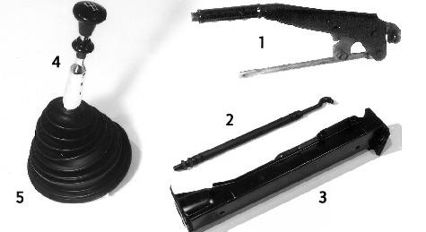 Schalt- & Handbremshebel