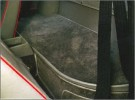 Teppichsatz Velours schwarz