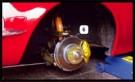 Innenbelüftete Bremsanlage vorn
