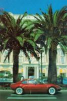 Farbposter GT unter Palmen