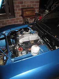 Motorraum  top original wie ab Werk
