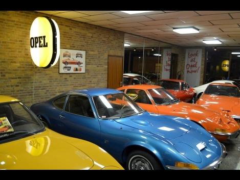 Opel GT Showroom
