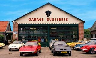 Garage mit GTs