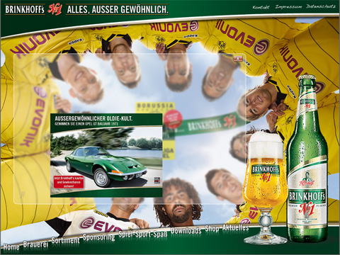 Brinkhoffs No1 Opel GT Borussia Dortmund