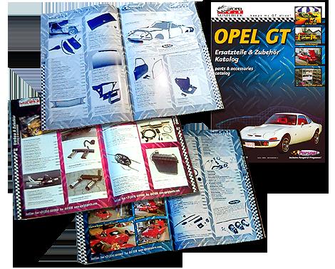 Opel GT Printkatalog