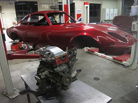 Opel Gt Werkstatt Workshop